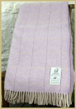 Lambswool Pastel Windowpane - Wysteria