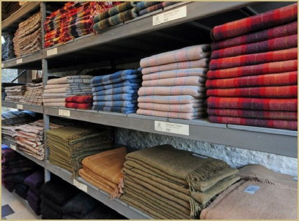 Cotswold Woollen Weavers' Rug Warehouse... Visit it in Filkins, or here online