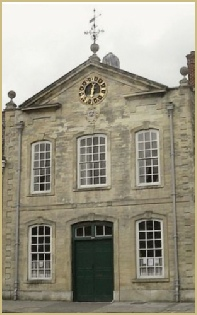 The Blanket Hall (1721), head quarters of the Witney Blanket Makers Company