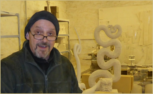 Simon Brittain, Master Stonemason, carver and sculpter