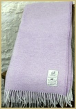 Cotswold Woollen Weavers' Lambswool Wide Herringbone Throw Fairy